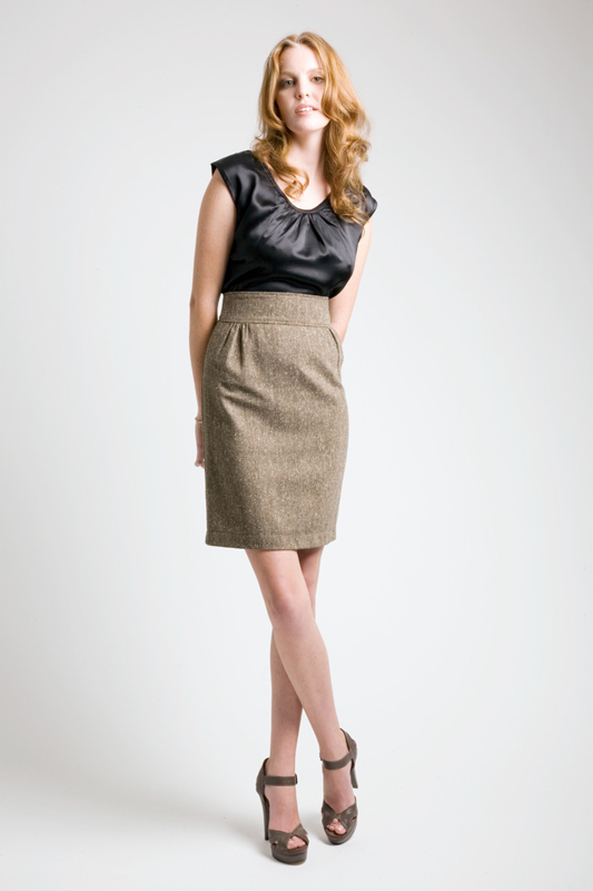 Allison Wonderland Network Skirt