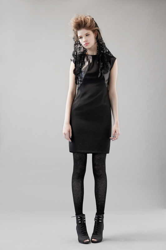Eve Gravel Black Keys Dress
