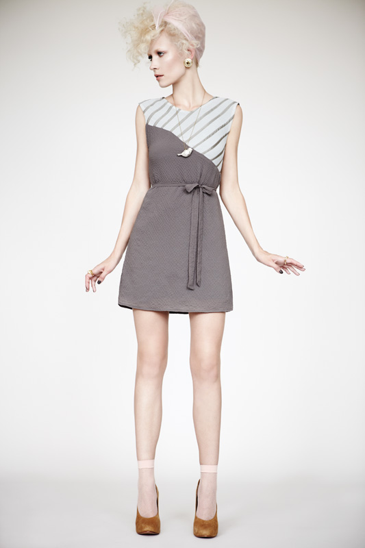 Eve Gravel Juliette Dress