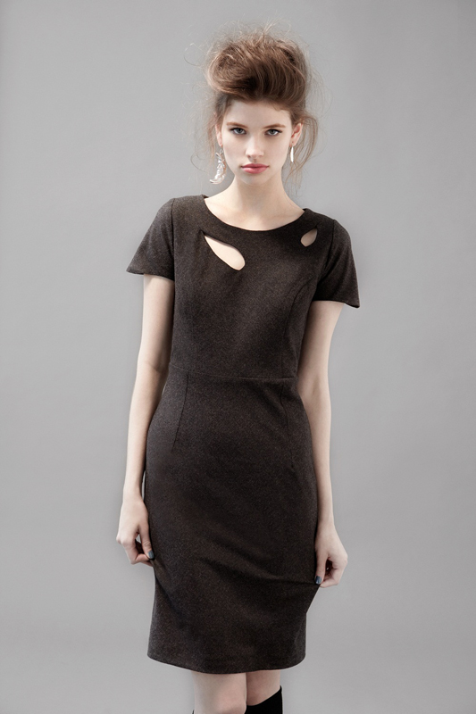 Eve Gravel Megan Dress