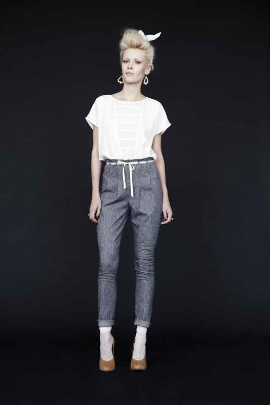 Eve Gravel Jefferson Pant