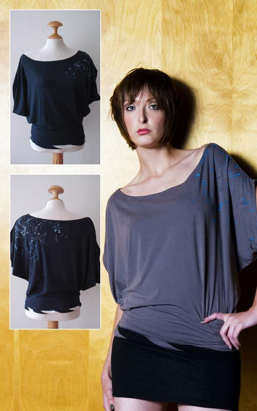 Namoda Off Shoulder Cowl Top from mudsharkstreetwear.com