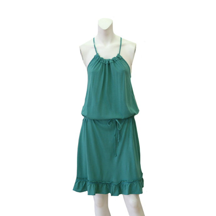 Private Label Bamboo Halter Dress