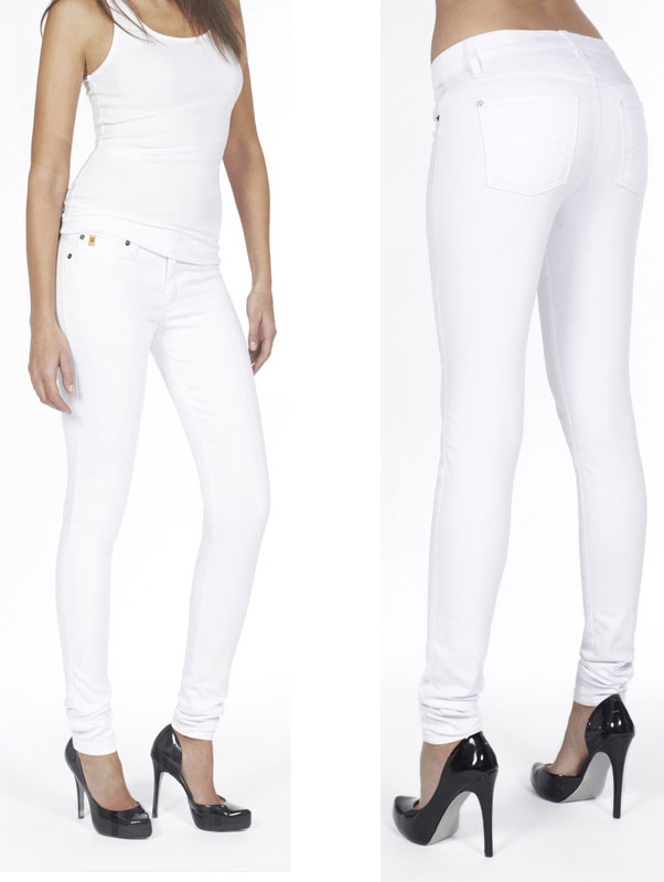 Second Yoga Jeans Yoga 22 Jean - White