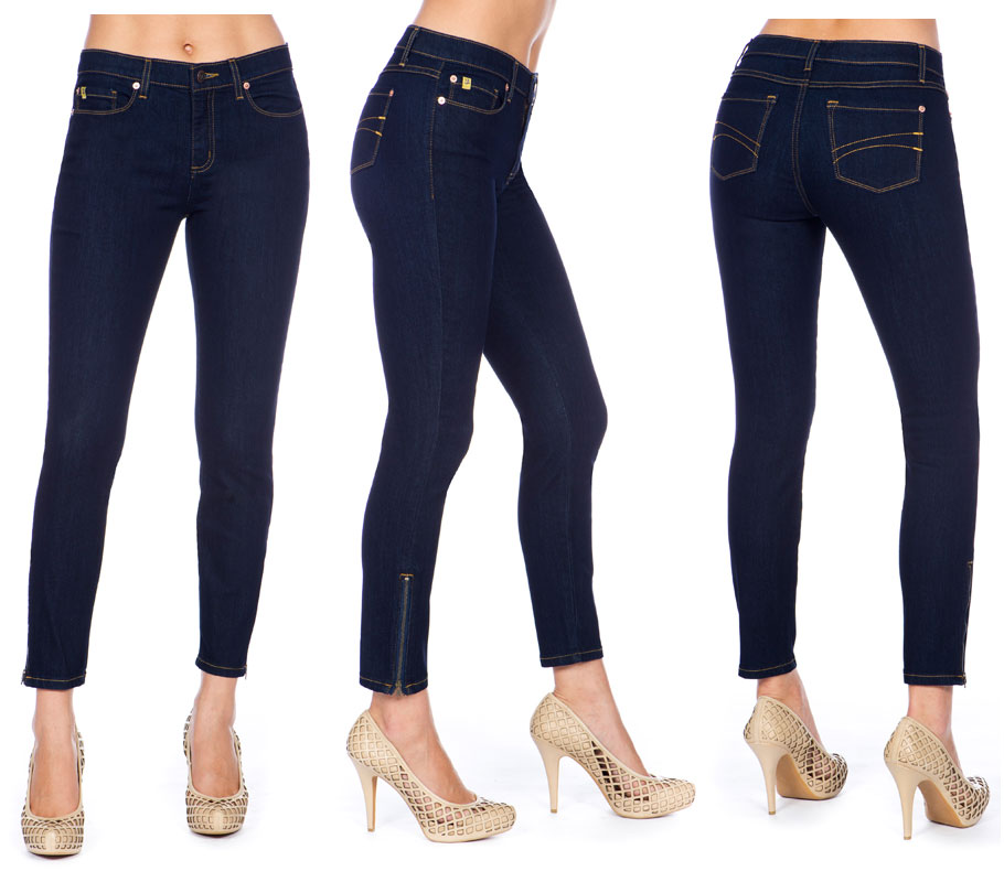 "Second Yoga Jeans Yoga 57 High Rise 28"" Ankle Jean"