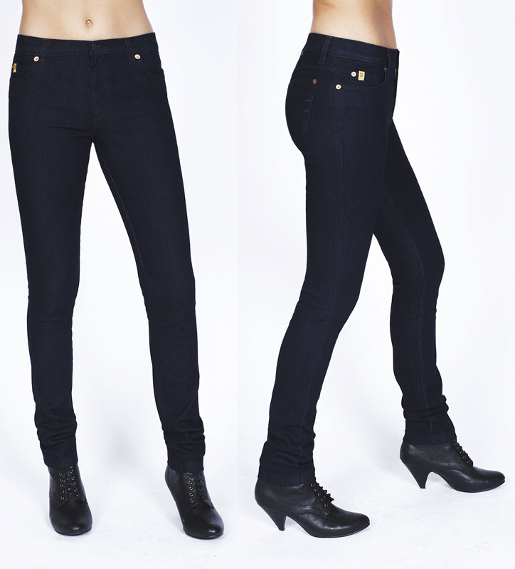 Second Yoga Jeans Yoga 59 Mid Rise Jean