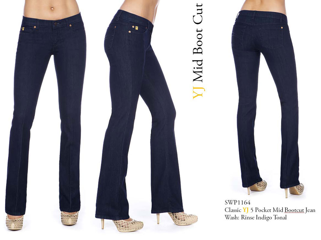 Second Yoga Jeans Yoga 64 Mid Rise Jean