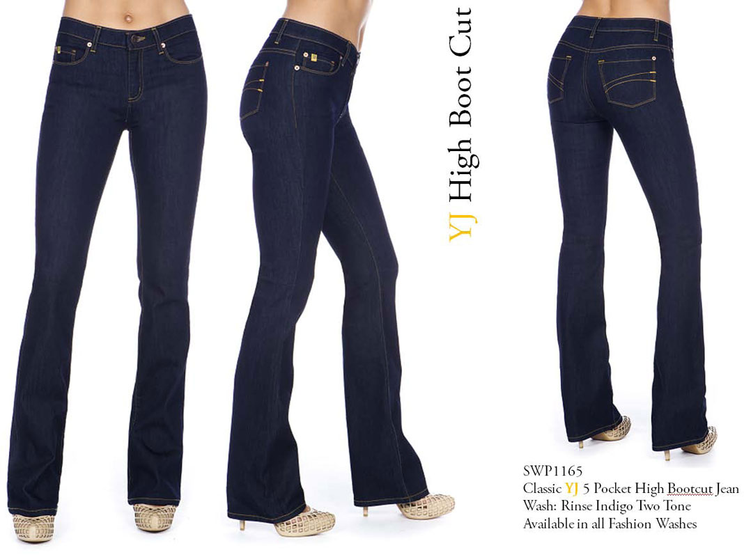 Second Yoga Jeans Yoga 65 High Rise Jean