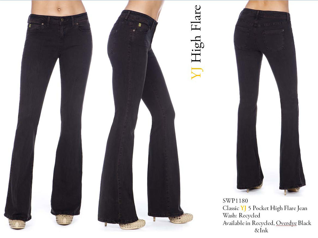Second Yoga Jeans Yoga 80 High Rise Jean