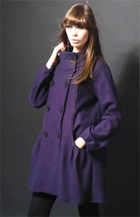 Valerie Dumaine Clothing Delphie Coat