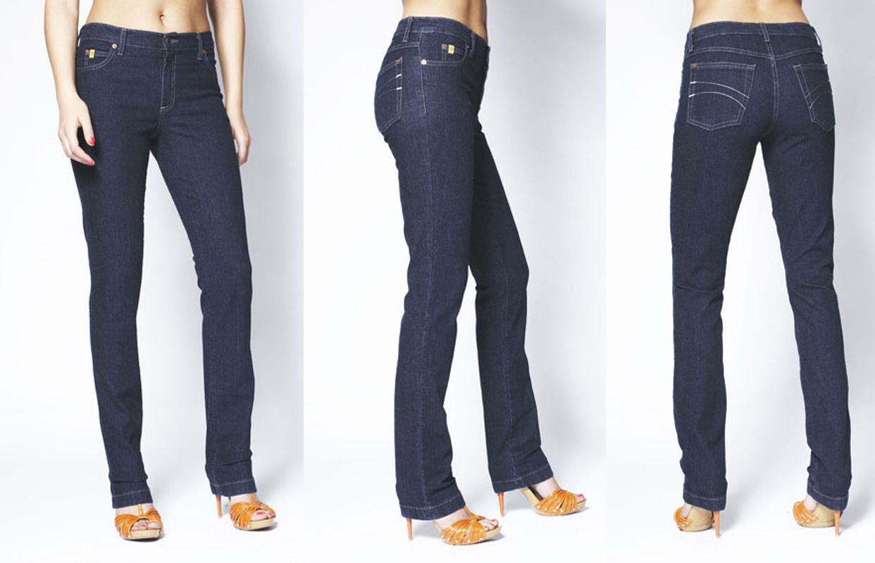 Second Yoga Jeans Yoga 24 High Rise Jean