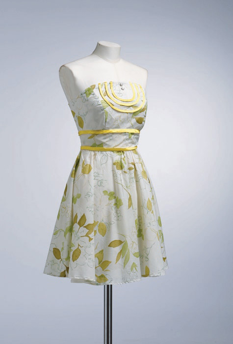 Zeto Garden Party Short Dress