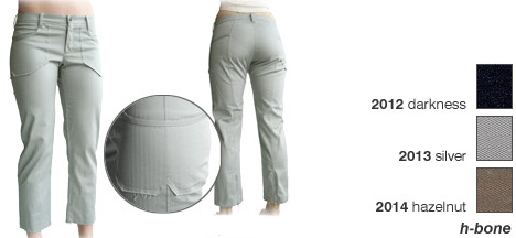 Bodybag Rizzo Pant, Last One! - Size Small Silver (Light Grey)