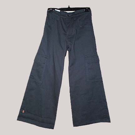 Brawd Grout Cargo Pocket Shant, Last One! - Size Small - Navy