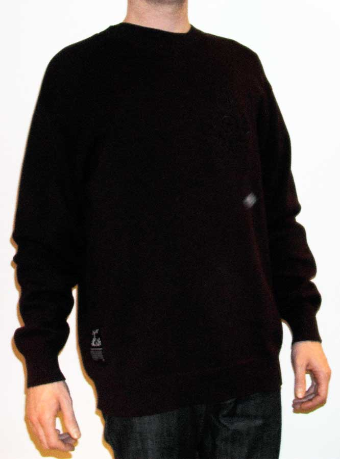 LRG Lifted Research Group Clothing King of Crest Sweater